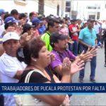 Chiclayo: Trabajadores de Pucalá protestaron por falta de pagos