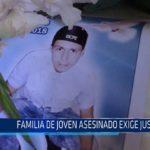 Chiclayo : Familia de joven asesinado exigen justicia