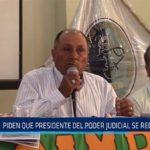 Chiclayo: Piden que presidente del poder judicial se rectifique