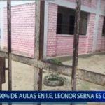 I.E Leonor Serna a punto de colapsar