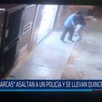 """Chiclayo: """"Marcas"""" asaltan policía y se llevan quince mil soles"""