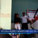 Chiclayo: Utilizan a mujeres y menores para asaltar a taxistas