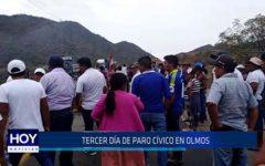 Chiclayo : Tercer día de paro en Olmos