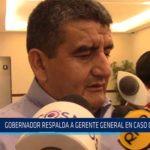 Chiclayo: Gobernador respalda a gerente general en caso Chaparrí