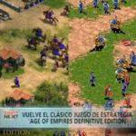 """Vuelve el clásico juego de estrategia """"Age of empires definitive edition"""""""
