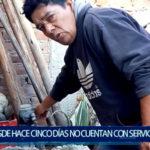 Piura: Moradores desde hace cinco días sin agua