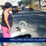 Piura: 4 Millones de soles al agua
