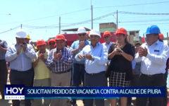 Piura: Aliada política solicita pedido de vacancia contra Alcalde de Piura