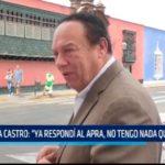 """Alva Castro: """"Ya respondí al APRA, no tengo nada que temer"""""""