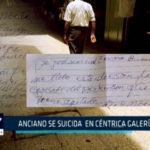 Chimbote: Anciano fallece tras caer del quinto piso de galerías alfa
