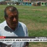 Vicepresidente de Arica espera se cambie de escenario
