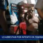 Piura: Lo arrestan por intento de feminicidio