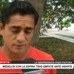 Medellín con la espina tras empate ante Ugarte