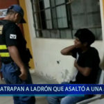 Piura: Atrapan a ladrón que asaltó a una menor
