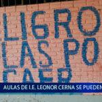 Piura: Colegio Leonor Cerna Valdivieso se puede caer