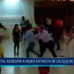 Piura: Brutal agresión a mujer en fiesta de abogados