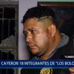 "Piura: Cayeron 18 integrantes de ""Los Bolongos"""