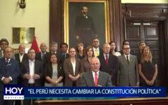 """Piura: """"El Perú necesita cambiar la Constitución Política"""""""
