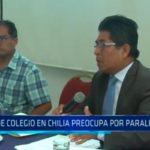 Obra de colegio en Chilia preocupa por paralización