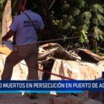 México: Cinco muertos en persecución en puerto de Acapulco
