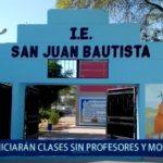 Piura: Faltan profesores y mobiliario en I.E San Juan Bautista
