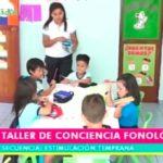 Estimulación Temprana: Taller de conciencia fonológica para  niños