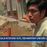 SEDALIB interviene hotel por mantener conexión clandestina