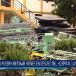 Chiclayo: No pueden retirar bienes en desuso de hospital las mercedes