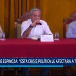 """Elidio Espinoza: """"Esta crisis política afectará a Trujillo"""""""