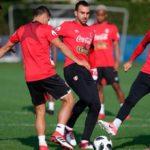La selección peruana cumplió su cuarto día de entrenamiento