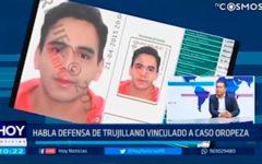 Habla defensa de trujillano vinculado a caso Oropeza