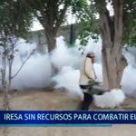 Piura: DIRESA  sin recursos para continuar combatiendo el dengue
