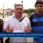 Denuncian despido arbitrario en Ministerio Público