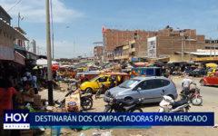 Piura: Dos compactadoras para mercado de Piura