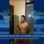 Chiclayo: Capturan a delincuente que disparo a policía en asalto a bus