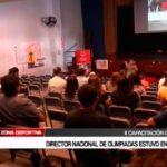 Director Nacional de Olimpiadas estuvo en Trujillo