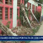 Piura: Más de 400 escolares  en riesgo por falta de cerco perimétrico en I.E. Vicente de Pasapera