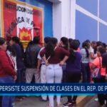 Persiste suspensión de clases en el República de Panamá