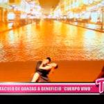 """Local: Espectáculo de danzas a beneficios """"Cuerpo Vivo""""."""