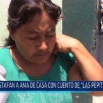 """Chiclayo: Estafan a ama de casa con cuento de """"Las Pepitas De Oro"""""""