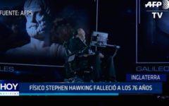Inglaterra: Físico Stephen Hawking falleció a los 76 años