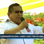Chimbote: Gobernador Regional cambió a Directora Regional de Salud
