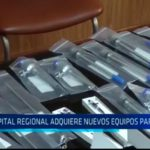 Hospital Regional adquiere nuevos equipos para cirugía