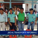 Piura: ¡No al transporte informal!