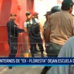 """Internos de """"Ex – Floresta"""" dejan escuela de la PNP"""