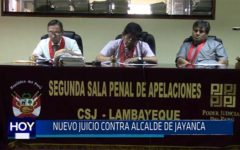 Chiclayo. Nuevo juicio contra alcalde de Jayanca