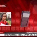 Jimena Zorrilla hizo la marca para el mundial