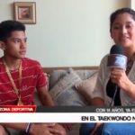 Fabián Yupanqui es una promesa en el Taekwondo Nacional