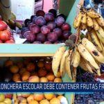 Chiclayo: Lonchera escolar debe contener frutas frescas