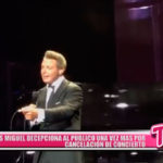 Internacional: Luis Miguel cancela su concierto en Acapulco por problemas de sonido